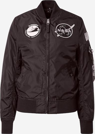 Giacca di mezza stagione 'NASA' ALPHA INDUSTRIES di colore nero / bianco, Visualizzazione prodotti