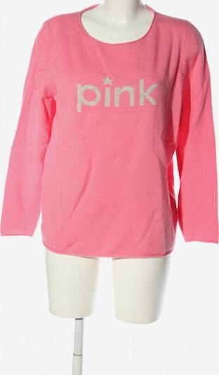 talkabout Wollpullover in L in pink / wollweiß, Produktansicht