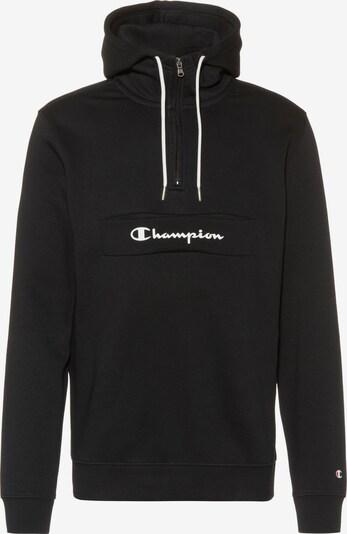 Champion Authentic Athletic Apparel Hoodie in schwarz / weiß, Produktansicht
