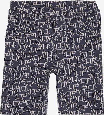 Sense Organics Pantalon 'KHAN' en marine / blanc, Vue avec produit