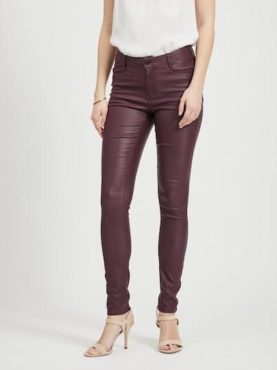 VILA Džínsy 'Vicommit' - vínovo červená, Model/-ka