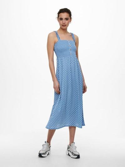 ONLY Kleid in himmelblau / weiß, Modelansicht