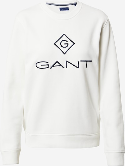 GANT Sweatshirt in schwarz / weiß, Produktansicht