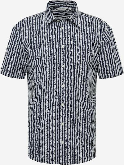 Casual Friday Overhemd 'Anton' in de kleur Navy / Wit, Productweergave