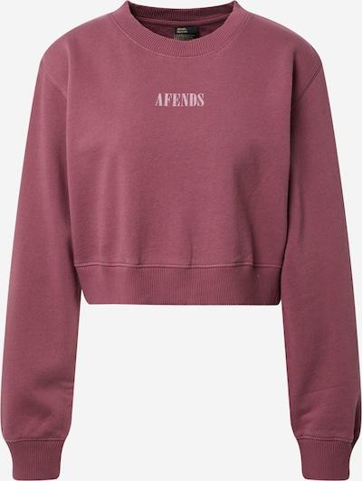 Afends Sweatshirt 'Rise Above' in de kleur Pastelroze / Pastelrood, Productweergave