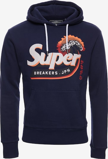 Superdry Pull-over en marine: Vue de face