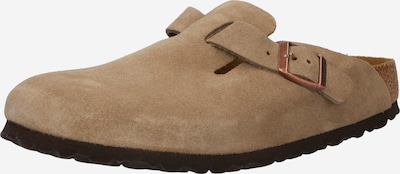 BIRKENSTOCK Mājas apavi 'Boston', krāsa - pelēkbrūns, Preces skats
