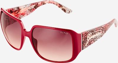 GUESS Saulesbrilles, krāsa - brūns / aveņkrāsas, Preces skats