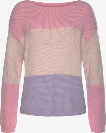 LASCANA Sweater in Pink
