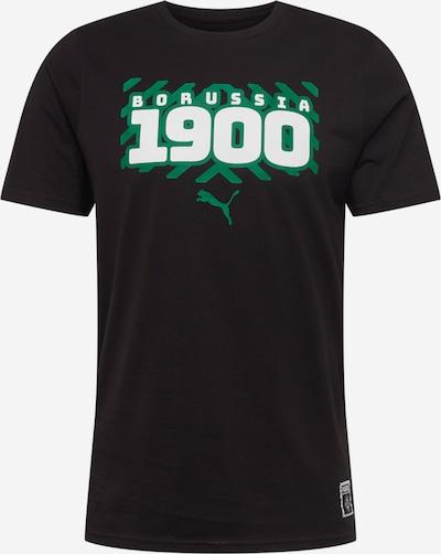 PUMA Functioneel shirt in de kleur Jade groen / Zwart / Wit, Productweergave