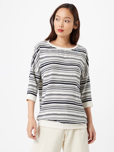 Ragwear Koszulka w kolorze czarny / białym: Widok z przodu