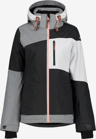ICEPEAK Veste outdoor 'CATHAY' en gris chiné / noir / blanc, Vue avec produit