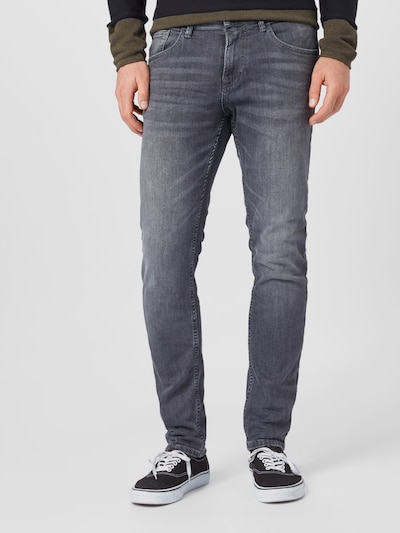 TOM TAILOR DENIM Jeans i grey denim, Modelvisning