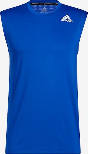 ADIDAS PERFORMANCE T-Shirt fonctionnel en bleu / blanc, Vue avec produit