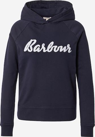 Barbour Sweatshirt 'Otterburn' in Blue