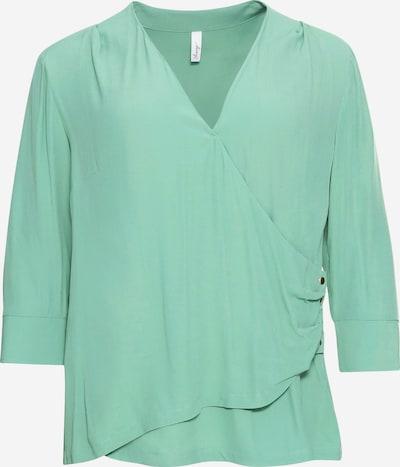 SHEEGO Bluse in hellgrün, Produktansicht