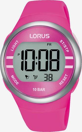 LORUS Uhr in grau / pink, Produktansicht