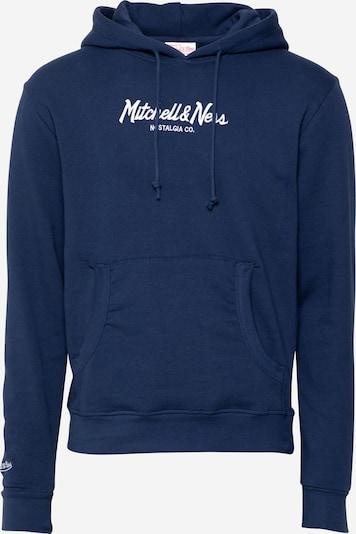 Mitchell & Ness Sweater majica u mornarsko plava / bijela, Pregled proizvoda
