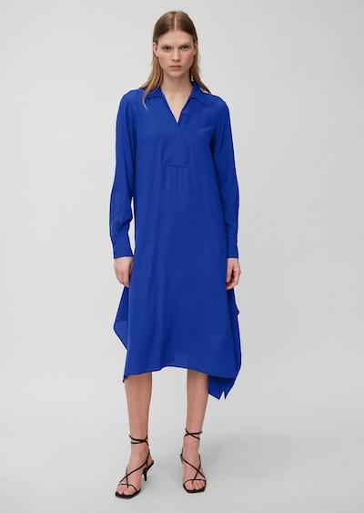 Marc O'Polo Pure Robe ' aus reiner Seide ' en bleu cobalt, Vue avec modèle