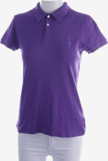 RALPH LAUREN Poloshirt in M in lila, Produktansicht