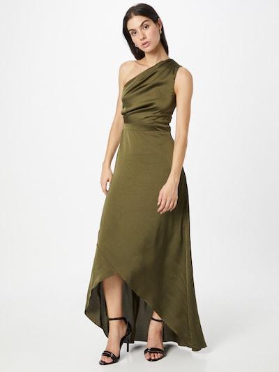 TFNC Kleid 'DELALI' in dunkelgrün, Modelansicht