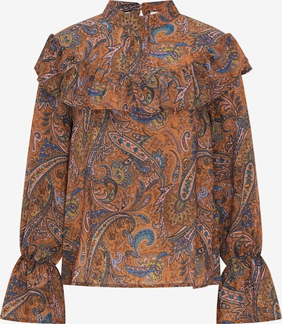 usha FESTIVAL Blouse in de kleur Roestbruin / Gemengde kleuren, Productweergave
