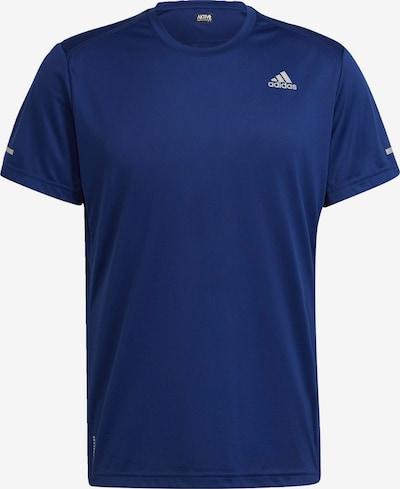 ADIDAS PERFORMANCE Functioneel shirt 'Run It' in de kleur Royal blue/koningsblauw / Wit, Productweergave
