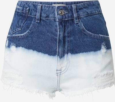Jeans Pimkie pe albastru denim / alb, Vizualizare produs