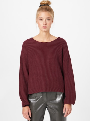 sarkans ONLY Džemperis 'Xenia'