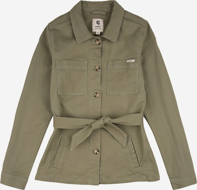 GARCIA Prechodná bunda - zelená / svetlooranžová / biela, Produkt