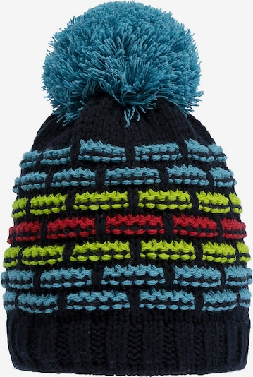 DÖLL Mütze in blau / grün / schwarz, Produktansicht