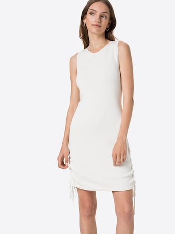 NU-IN Knit dress in White