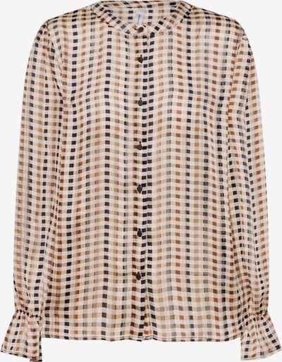 MAC Bluse in braun, Produktansicht
