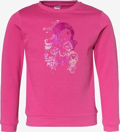 JACKY Sweatshirt in lila / pink / weiß, Produktansicht
