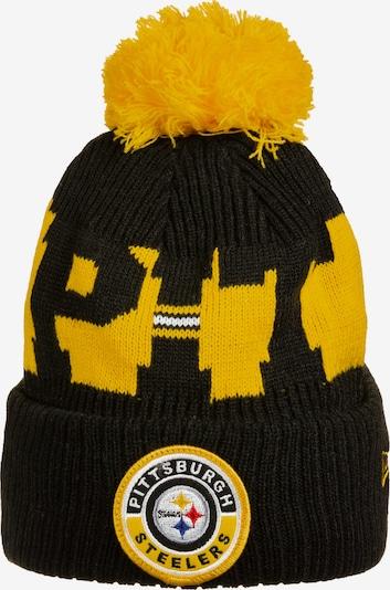 NEW ERA Mütze 'NFL Pittsburgh Steelers' in gelb / schwarz, Produktansicht