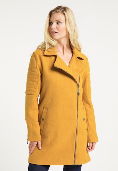 DreiMaster Vintage Mantel in goldgelb, Modelansicht