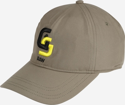 Șapcă 'Avernus' G-Star RAW pe galben / kaki / negru, Vizualizare produs