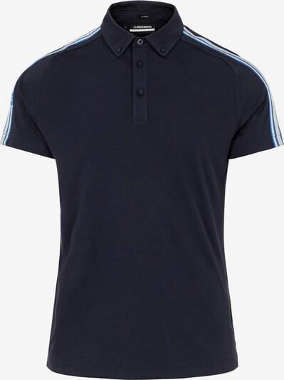 J.Lindeberg Poloshirt in schwarz, Produktansicht