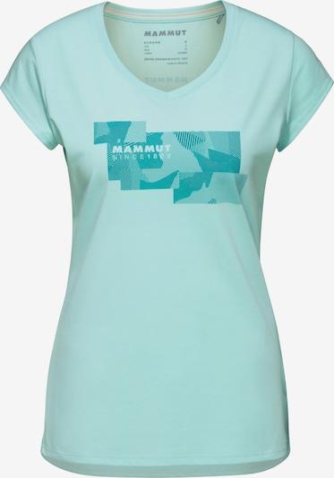 MAMMUT T-Shirt 'Trovat' in türkis / hellblau, Produktansicht