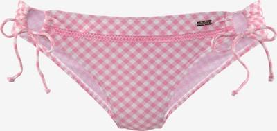 Slip costum de baie BUFFALO pe roz / alb, Vizualizare produs