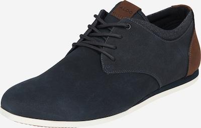 ALDO Šněrovací boty 'Auwen' - námořnická modř / karamelová, Produkt