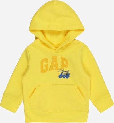 GAP Sweatshirt 'V-COOL' in blau / limone, Produktansicht