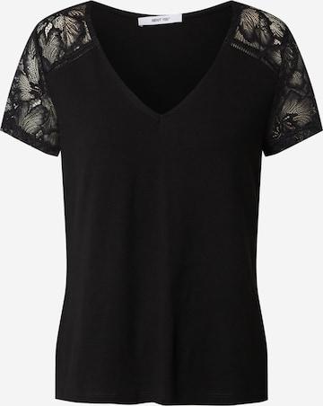 ABOUT YOU Shirt 'Sarah' in Zwart