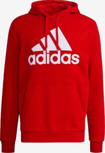 ADIDAS PERFORMANCE Sportsweatshirt in feuerrot / weiß, Produktansicht