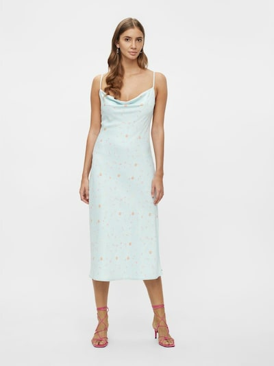 Y.A.S Cocktail Dress in Light blue / Yellow, View model