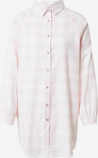 Camicia da notte Cotton On Body di colore rosa / bianco, Visualizzazione prodotti