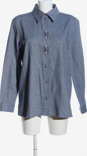 Alhorn Langarmhemd in L in blau, Produktansicht