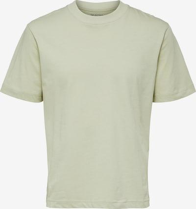 SELECTED HOMME T-Krekls 'Colman 200', krāsa - pasteļzaļš: Priekšējais skats