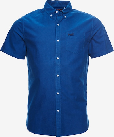 Superdry Oxfordhemd in blau, Produktansicht