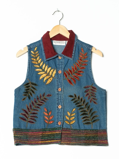 Dressbarn Jeansweste in M in dunkelblau, Produktansicht